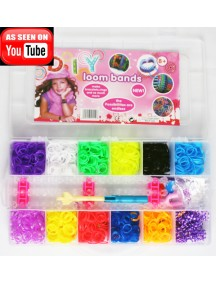 HO2735 - Rainbow Loom Case Complete Set Box
