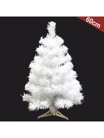 HO2752 - Pohon Natal White Christmas Tree Alaska Snow (Tinggi 60cm)
