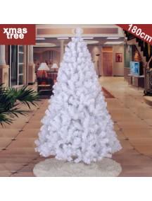 HO2753 - Pohon Natal White Christmas Tree Alaska Snow (Tinggi 180cm)