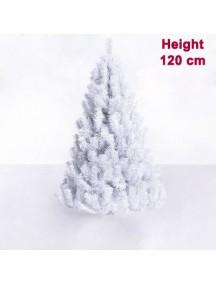 PHO2756 - Pohon Natal White Christmas Tree Alaska Snow (Tinggi 120cm)