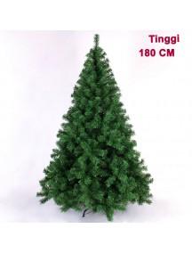 HO2759 - Pohon Natal Green Christmas Tree Plain yosemite (Tinggi 180cm)