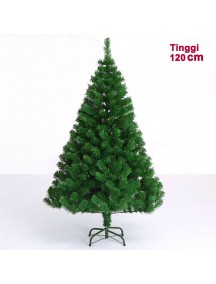 HO2760 - Pohon Natal Green Christmas Tree Plain yosemite (Tinggi 120cm)
