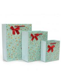 HO2845 - Gift Bag Bunga Fashion 26 * 10 * 32.5 Cm