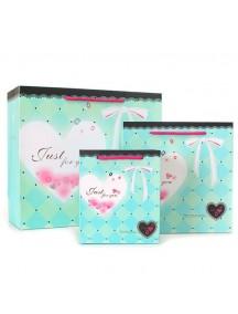 HO2851B - Gift Bag Heart Diamond Fashion 20 * 10 * 20 Cm