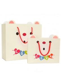 HO2854B - Gift Bag Bear Love Fashion 21.5 * 10 * 16.5 Cm