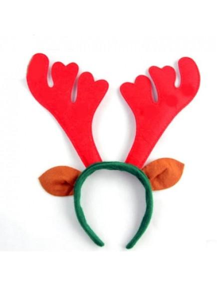 PHO2870 - Aksesoris Bando Natal Kuping Rusa Christmas