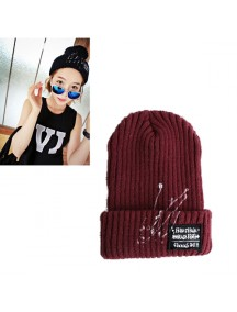 HO3065 - Topi Wool Fashion (red Wine)