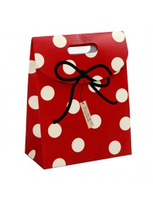 HO3102B - Gift Bag Polkadot Fashion 26.5 * 19 * 9 Cm
