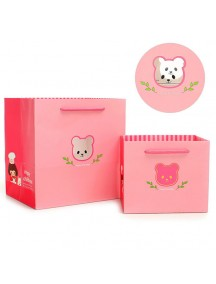 HO3126B - Gift Bag Bear Fashion  20.5 * 16 * 21 Cm