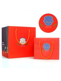 HO3128C - Gift Bag Sheep Fashion  15.8 * 12.3 * 13.3 Cm