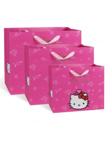 HO3129B - Gift Bag Hello Kitty Fashion  32 * 43 * 13,5 Cm