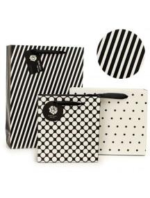 HO3132 - Gift Bag Polkadot Kecil Fashion  24.5 * 9.4 * 34 Cm