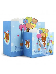 HO3143B - Gift Bag Rilakkuma Fashion  16.5 * 20.5 * 10 Cm