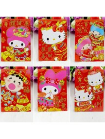 HO3170 - Angpao Model Cartoon ( Random Model )