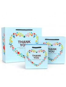 HO3188C - Gift Bag Love Thank You Fashion  14 * 7 * 15 Cm