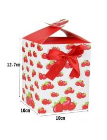 HO3195 - Gift Bag Kotak Dengan Pita Fashion 10 * 12.7 * 10 Cm