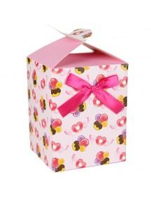 HO3195C - Gift Bag Kotak Dengan Pita Fashion 10 * 12.7 * 10 Cm