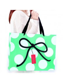 HO3213B - Gift Bag Polkadot Pita Fashion  26 * 9.8 * 31 Cm