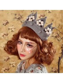 HO3218 - Topi Wool Crown (Gray)