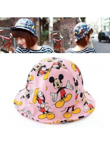 HO3265 - Topi Bucket Hat Mickey (Pink)