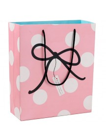 HO3319B - Gift Bag Polkadot Pita Fashion  26 * 9.8 * 31 Cm