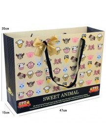 HO3511 - Gift Bag Fashion Model Animals 47 * 35 * 15 Cm
