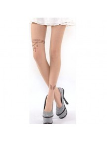 HO3541B - Stocking Fashion Tatoo Chain Element