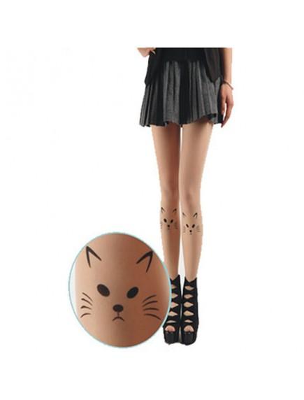 HO3541E - Stocking Fashion Tatoo Cat