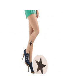HO3541F - Stocking Fashion Tatoo Star