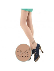 HO3541G - Stocking Fashion Tatoo Chain Love