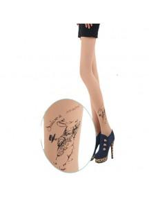 HO3541H - Stocking Fashion Tatoo Rabbit