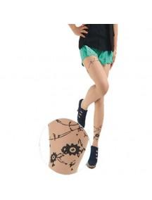 HO3541J - Stocking Fashion Tatoo Bunga