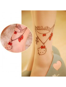 HO3542K - Stocking Fashion Tatoo Hello Kitty