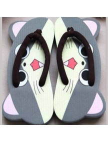 HO3557 - Sandal Fashion Cute Cartoon Model Kucing