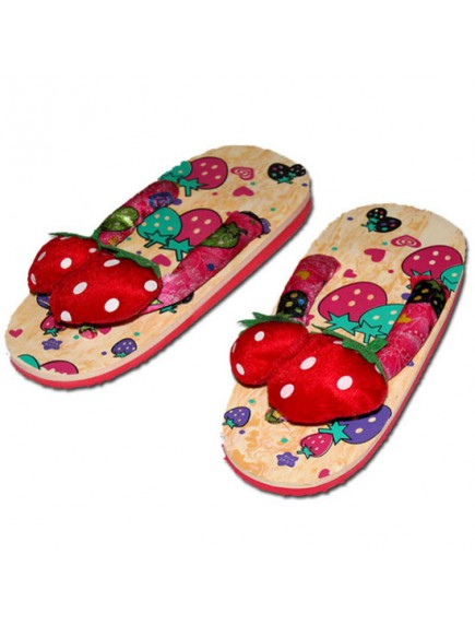 HO3562 - Sandal Fashion Model Strawberry