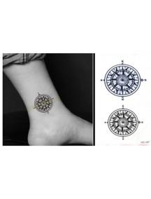 HO3653 - Tattoo Compass HC127