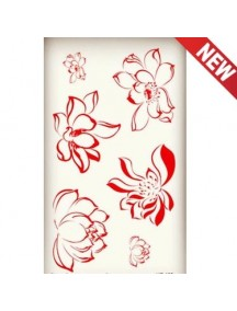 HO3659 - Tattoo Lotus Flower  HC159