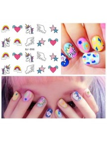 HO3810 - Water Nail Sticker YS-02