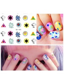 HO3812 - Water Nail Sticker YS-04