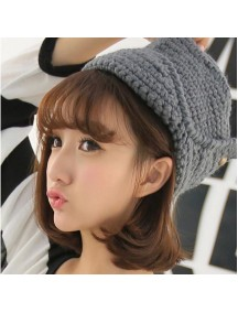 HO3816 - Topi Rajut Fashion Lipat