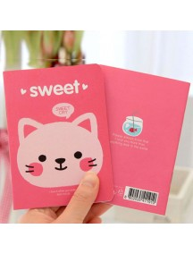 WA2262C - Note Memo Sweet Cat