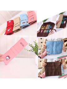 WA2299C - Tempat Pensil Roll Cute ( Pink )