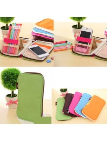 WA2304E - Dompet Color Multifungsi (HIJAU)