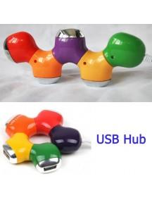WA2345 - USB Hub Splitter Colorfull #C47