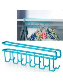 WA2380 - Hanger Hook Cabinet Serbaguna ( Biru ) #HM