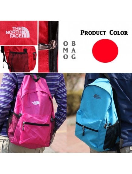 WA2398 - Tas Ransel BagPack Travel Fashion ( Merah ) #HM