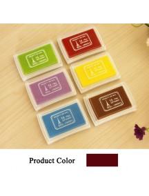WA2501 - Bantalan Tinta Stempel Warna ( Coklat ) #C77