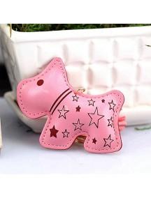 WA2524B - Gantungan Kunci Anjing ( Pink ) #C78