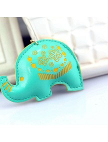WA2526B - Gantungan Kunci Gajah ( Hijau ) #C78