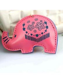 WA2526D - Gantungan Kunci Gajah ( Pink ) #C78